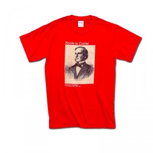 "A ""Boole Is Coole"" t-shirt feels like a cop-out when the alternative is the joy and wonder of modern science..."