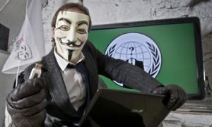 Anonymous hacktivist