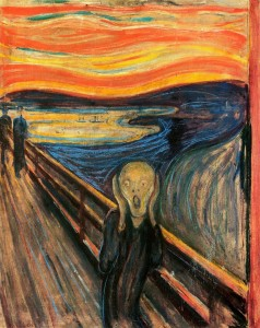 Edvard Munch's 'The Scream.'