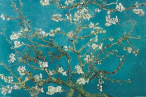 'Almond Blossoms' by Vincent Van Gogh.