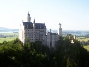 Neushcwanstein Castle, Fussen, Germany.
