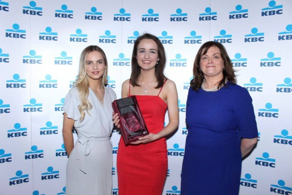 Claire Fox, an English and French student at UCC, wins two individual awards.