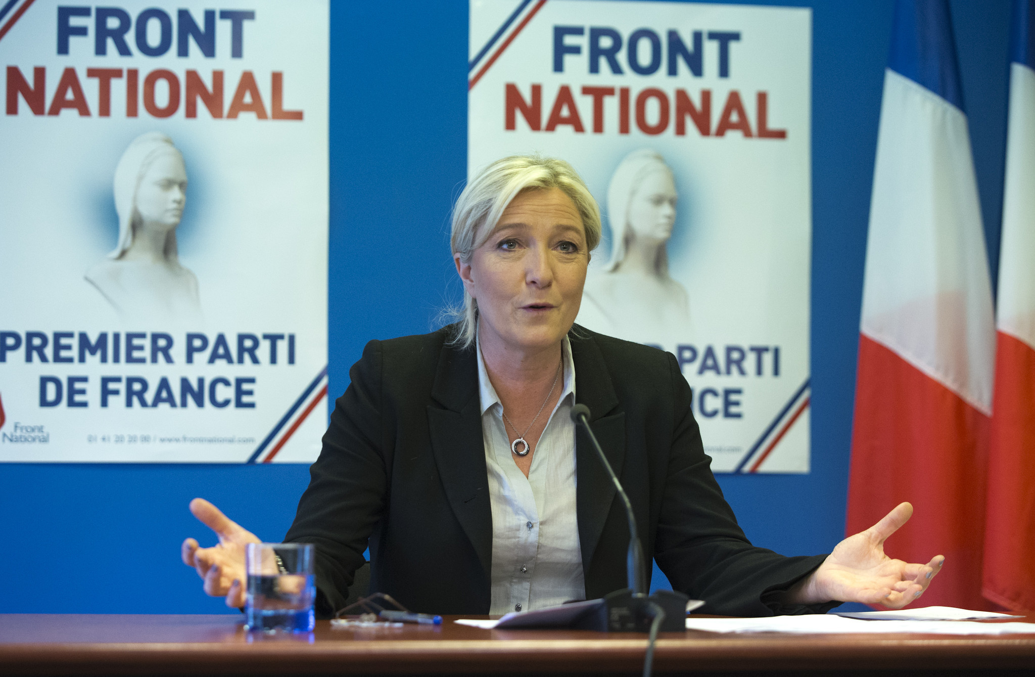 Front National Los Angeles Times
