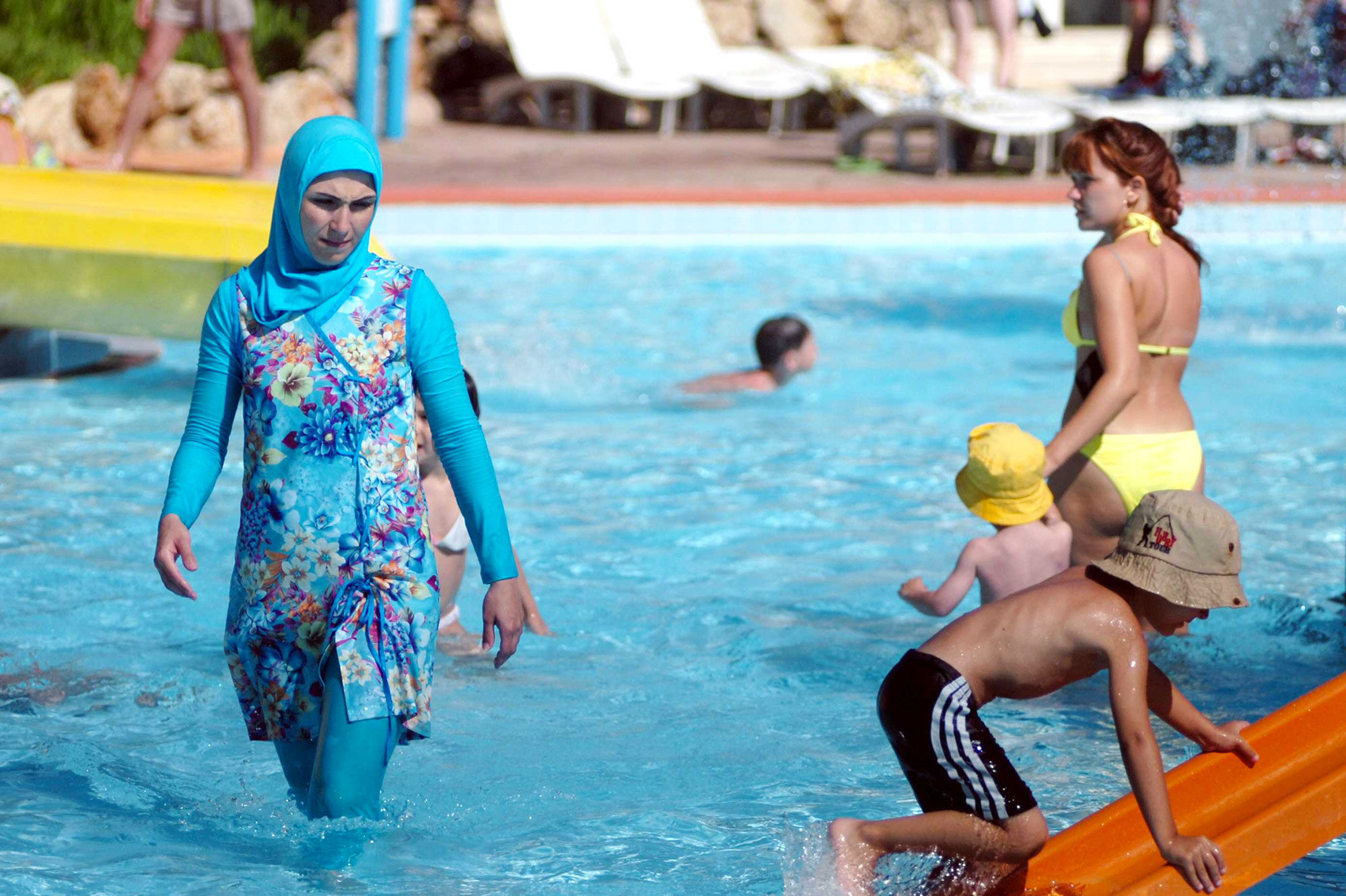 the banning of the burkini a security measure or act of discrimination